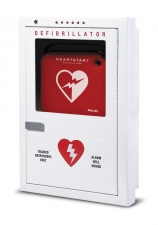 Defibrillator Cabinet, Semi-recessed photo