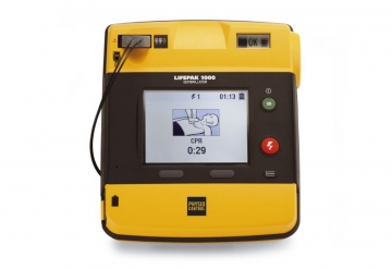 Physio-Control LIFEPAK 1000 AED Defibrillator with ECG Display photo