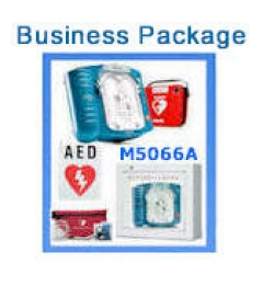 Business Bundle Featuring Philips HeartStart OnSite AED, HS1 photo