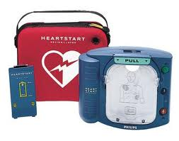 Philips HeartStart OnSite AED with Slim Carry Case photo