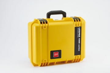 Physio-Control LifePAK 1000 Hard Shell, Water Tight Carry Case.  photo