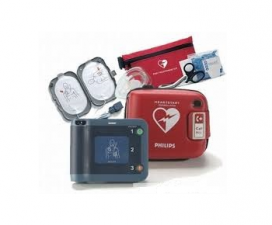 Travel AED Bundle Package Featuring Philips HeartStart FRx photo