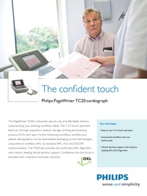 Philips PageWriter TC20 Cardiograph | CF Medical